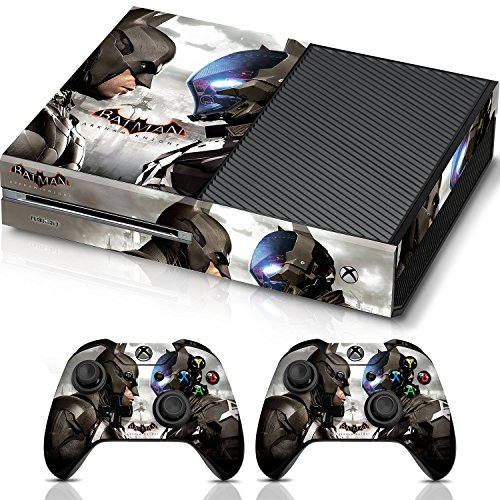 Batman-Arkham-Knight-Faceoff-Xbox-One-Combo-Skin-Set-for-Console-and-Controller-Officially-Licensed-by-Xbox-Controller-Gear
