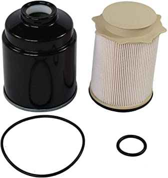Replaces# 68197867AA Fuel Filter Water Separator Set 6.7L Cummins Diesel 68157291AA Replacement for 2013-2018 Dodge Ram 2500 3500 4500 5500