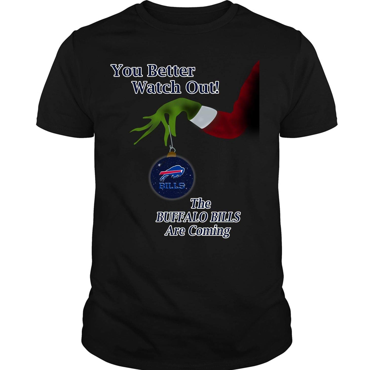 Check out this awesome The Buffalo Bills are Coming T Shirt Christmas T Shirt
