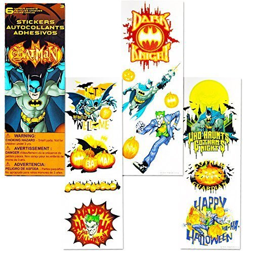 Batman Halloween Coloring Book Super Set with Crayons and Stickers Kids (Coloring Sheets For Halloween)
