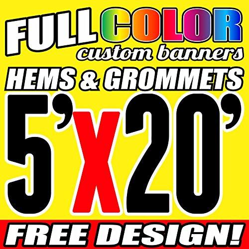 3' X 20' Banner - 3