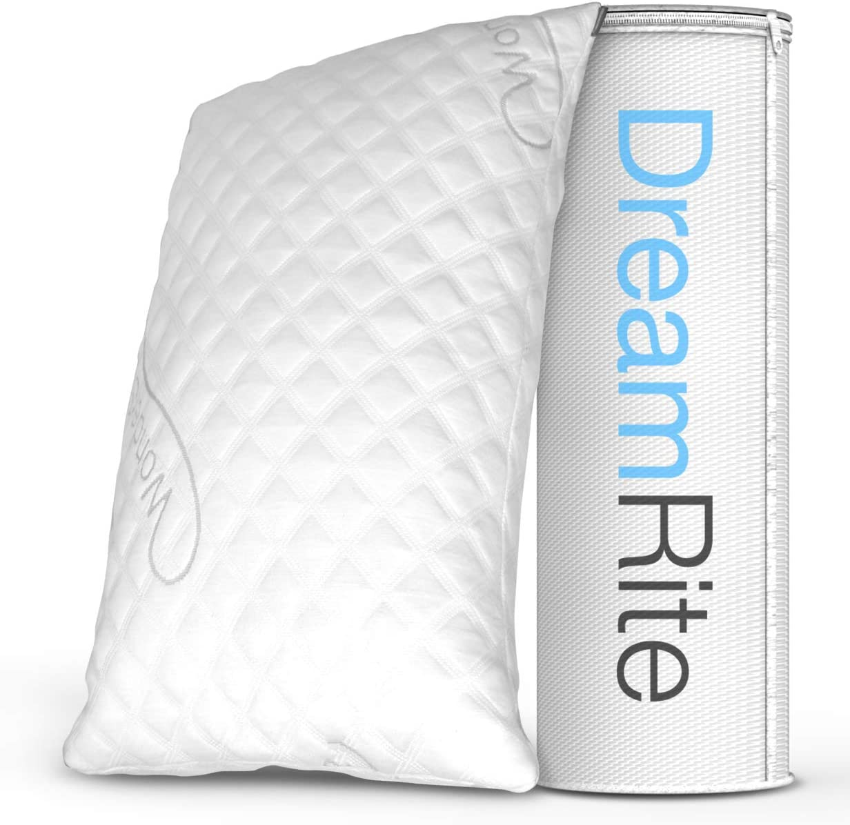 Dream Rite Shredded Hypoallergenic Memory Foam Pillow