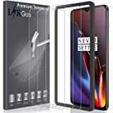 LK [3 Pack] Screen Protector for OnePlus 6T Tempered Glass [New Verison] [Installation Tray] HD-Clear, 9H Hardness, Case…
