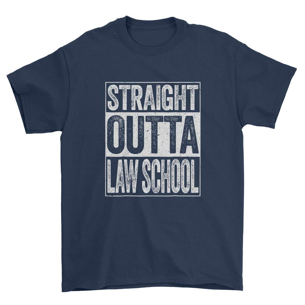Straight Outta Law School For Men Women Shirts