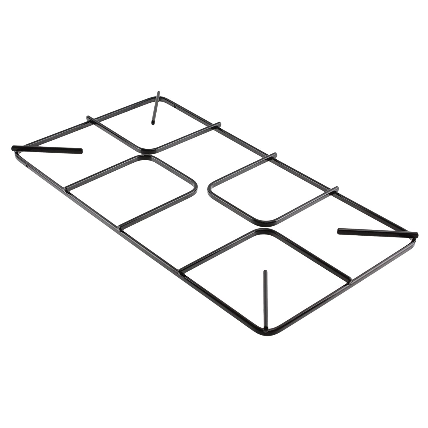 SPARES2GO Flat Gas Hob Pan Support Stand for Lamona Oven Cookers (455mm x 245mm, Large)