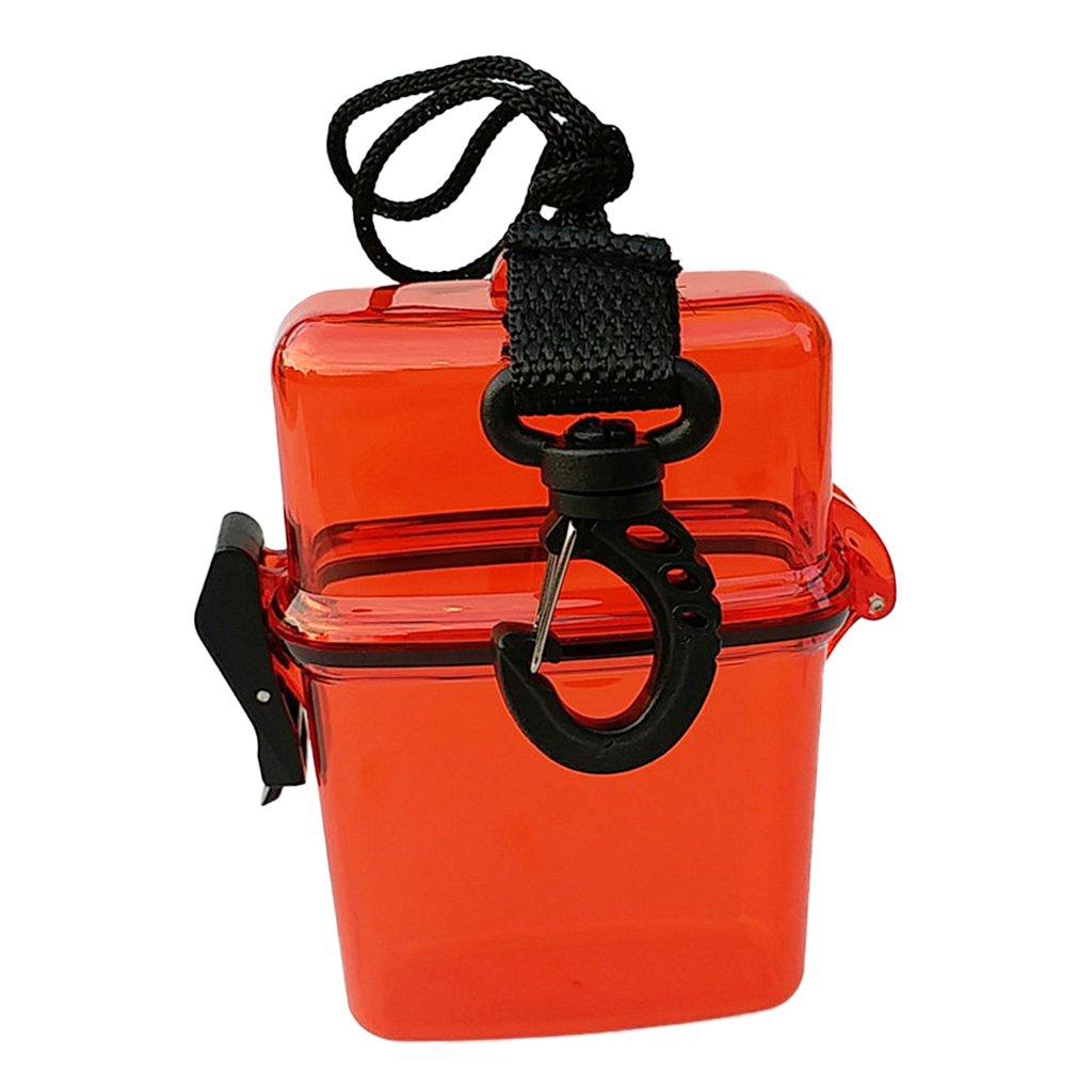Stockage Sec Et S/écuris/é CUTICATE Pack 2 Bo/îtes /étanches /étanches /à leau Porte-Badge Imperm/éable pour Carte Didentit/é avec Argent