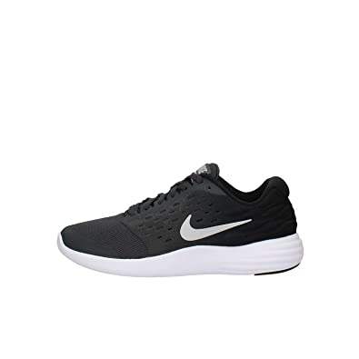 eef869736b1fe Nike Kids Lunastelos Big Kid Anthracite Black Metallic Silver Metallic  Silver Boys Shoes
