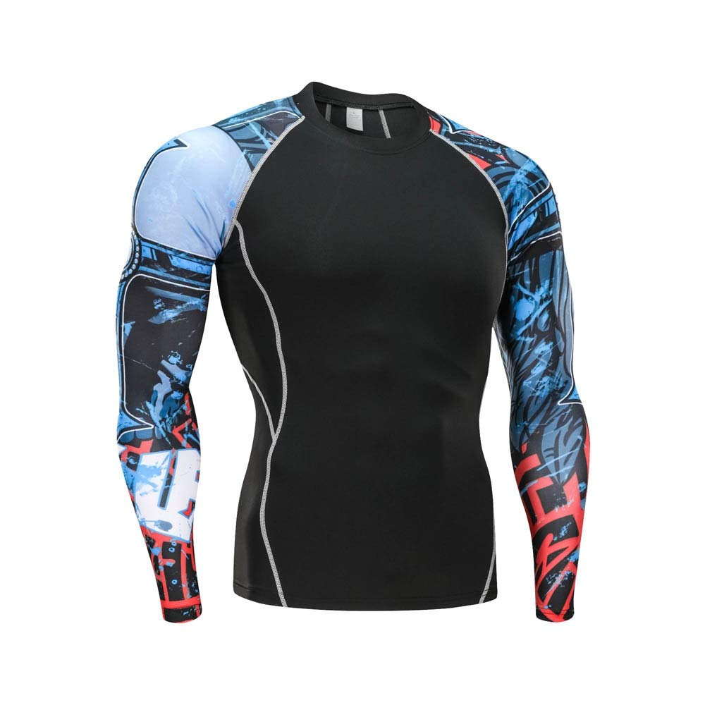Winter Gear Compression Suits for Skiing Running Long Base Layer for Male Men Sport Set