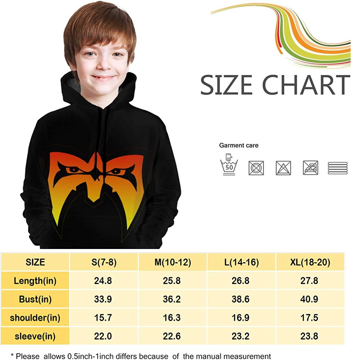 Victor Valentine Kid//Youth Ulti-Mate Wa-rrior Unisex Sweater Kids 3D Print Graphic Pullover Hoodie Sweatshirts Pocket