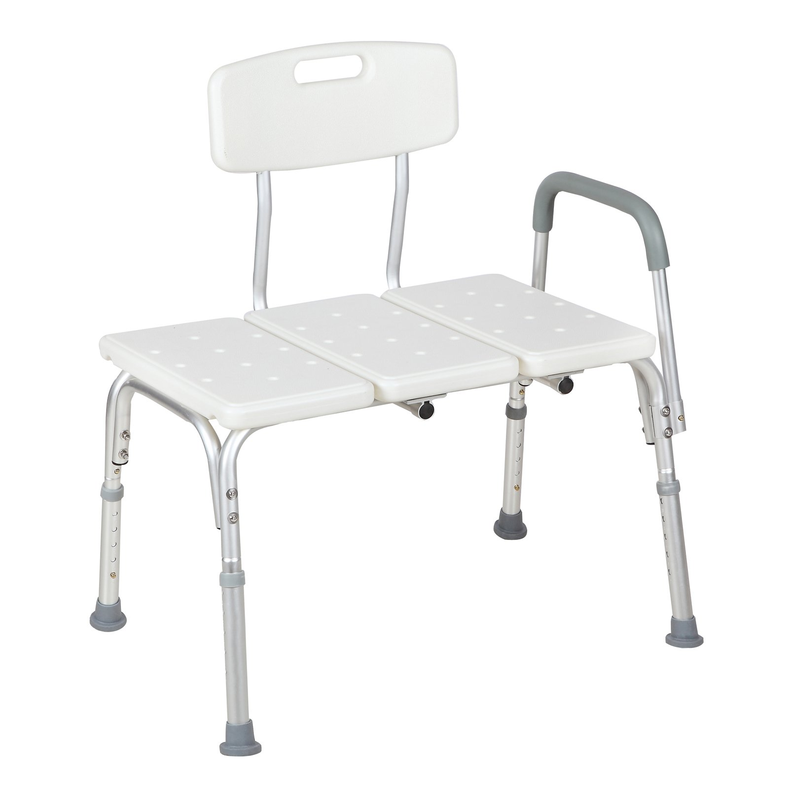 Uenjoy Bath Shower Chair Medical Transfer Bench Tub Transfer Bench Movable Seat