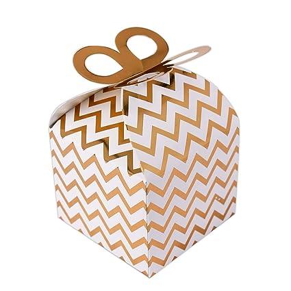 132103 - Pack de 12 Cajitas de regalo cumpleaños pequeña ...
