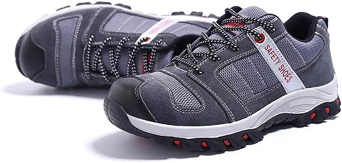 FREEUP Zapatillas de Seguridad Calzado Masculino de Seguridad con ...