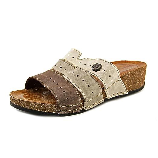 Wanderlust Slide Sandal(Women's) -Pastel Multi Leather Reliable Online Buy Cheap Footlocker Finishline 2018 New Cheap Online Sale Choice Cheap In China nqCLQI