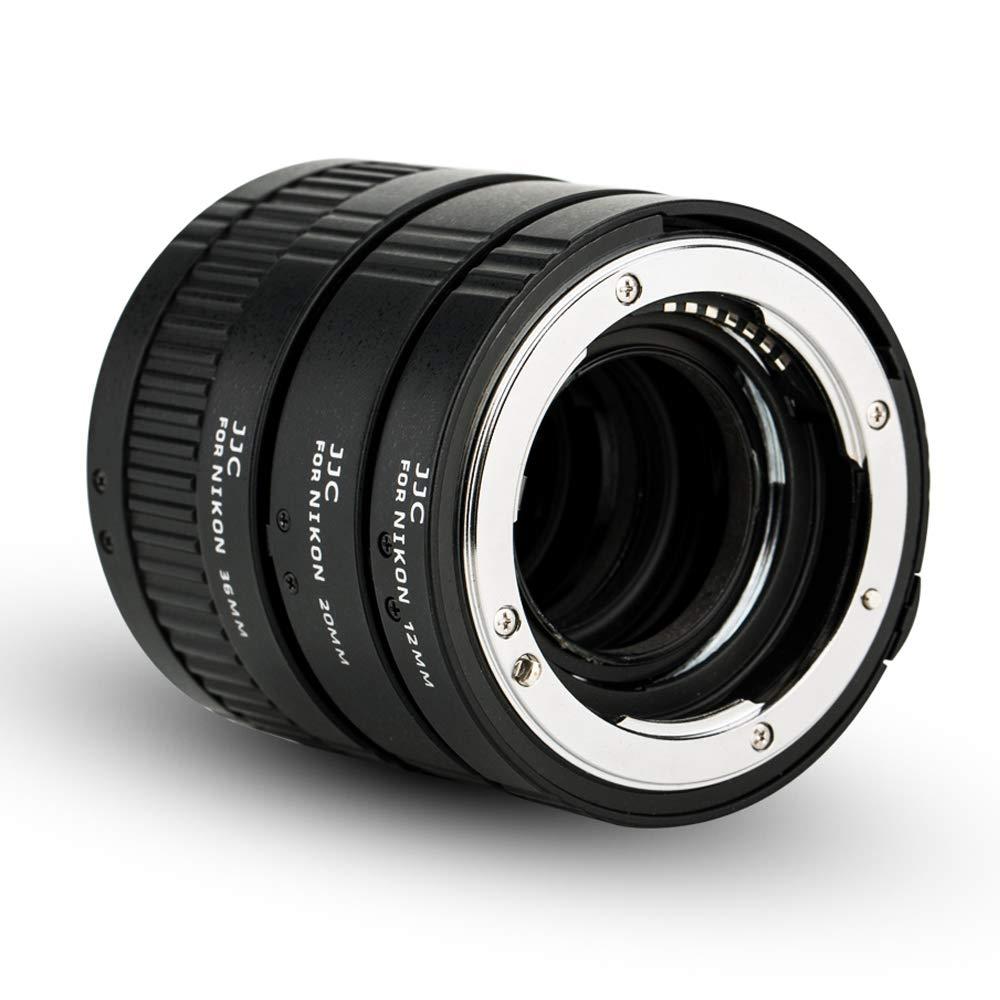 Auto Macro Extension Tube JJC 12mm 20mm 36mm Adapter Ring Tubes Set for Nikon D3400 D3300 D3200 D5600 D5500 D5300 D7500 D7200 D7100 D7000 D90 D80 D70 D60 D850 D800 D750 D700 D500 D300,ect by JJC
