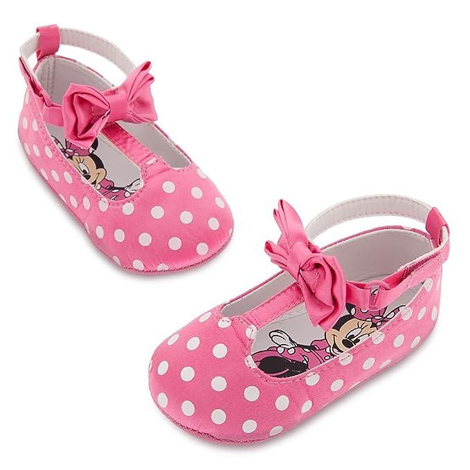 7c84a5a2def Disney Tienda Minnie Mouse disfraz de Pretty en color rosa lunares zapatos  para bebé - Multi -  Amazon.es  Ropa y accesorios