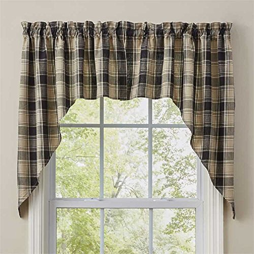Treatments Swags Window (Park Designs Soapstone Cotton Window Treatment Swags)