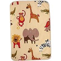 Baoblaze 60x90cm Cotton Baby Changing Pad Foldable Waterproof Travel Diaper Mat Crawling - Giraffe, 90x60cm