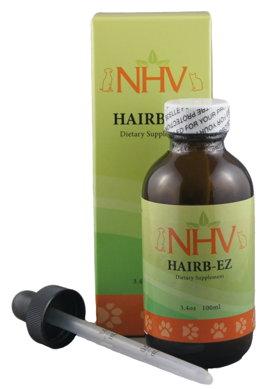 NHV Natural Hairball Remedy for Cat and Dog Hairballs Hairb-ez by NHV (Image #1)