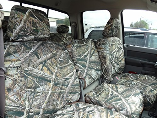 (Durafit Seat Covers DG30 2006-2009 Dodge Ram 2500 or 3500 Exact fit Seat Covers in Lost Camo Endura)