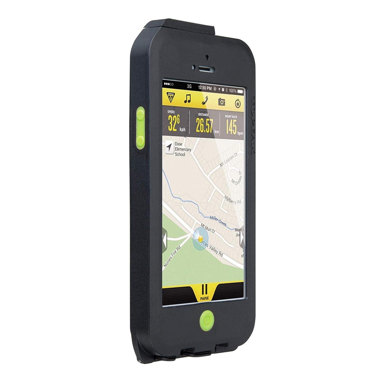 TOPEAK - Carcasa para iPhone 5 (Resistente a Las Condiciones meteorológicas Adversas, con Soporte)