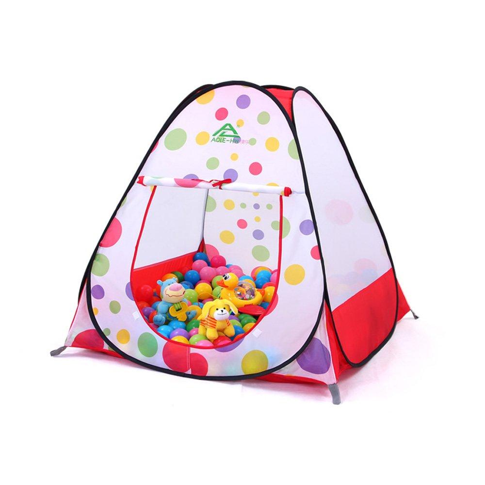 Precio por piso Siyushop Juego para Niños Uso en Interiores/Exteriores Tent Tent Tent Girl Castle, Carry Case Free Pink Fold (Color : Red D)  gran venta