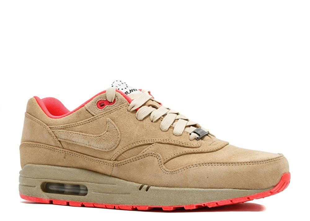 c262993443 Nike Air Max 1 Milan QS (Hometurf Series) - Linen Size 10 UK: Amazon.co.uk:  Shoes & Bags