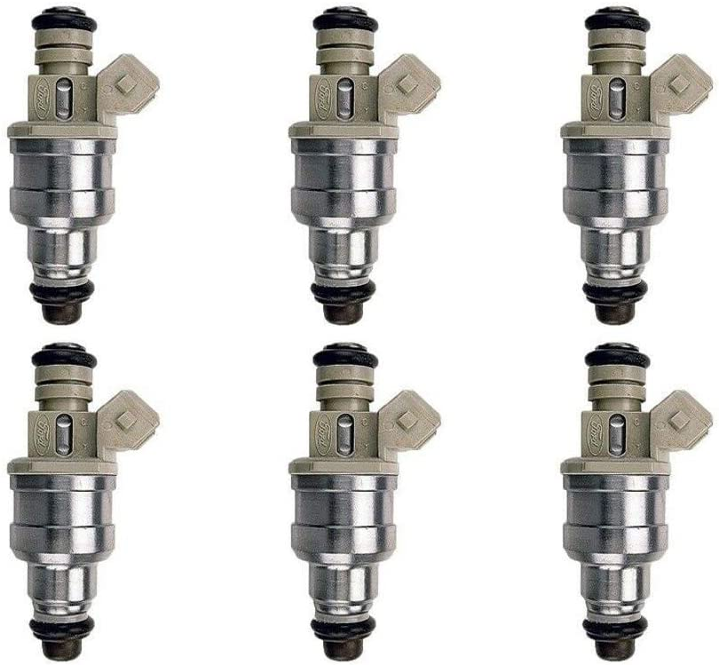 Genuine Denso Set Of 6 Fuel Injectors for Mercury Sable Ford Taurus 3.0L V6