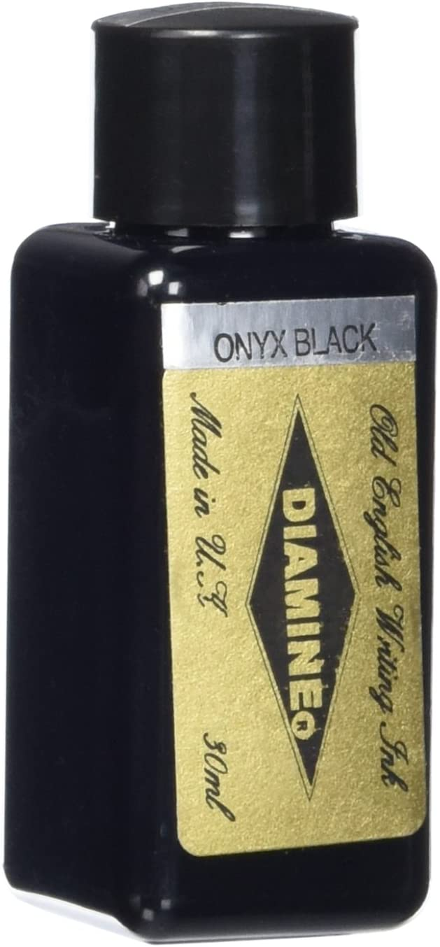 Diamine 30 ml Bottle Fountain Pen Ink, Onyx Black