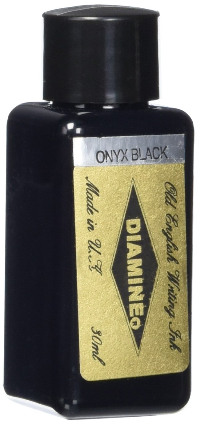 Diamine - Inchiostro per penna stilografica, Onyx Black 30ml NO.260