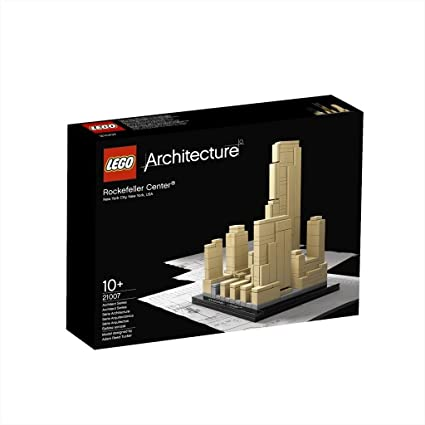 Amazon.com: LEGO Architecture Rockefeller Center (21007): Toys & Games