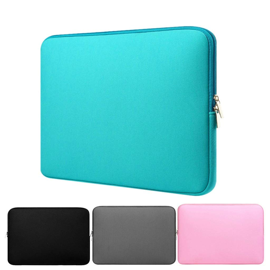 Nylon Laptop Sleeve pour iPad Air 10.5inch 2019 Fulltime ordinateur Portable Sac de Caisse de Poche Portable Cas Noir