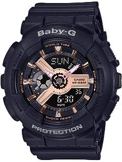 90881917c894 Amazon.com: Casio Women's BGA153-1B Baby-G Baby-G Shock Black and ...