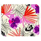 Kate Spade Flower Pattern Customized Rectangle Mousepad