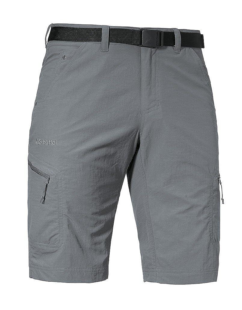 Schöffel Shorts Silvaplana2 Herren Hose, vielseitige Wanderhose mit separatem Gürtel, komfortable Outdoor Hose mit praktischen Taschen
