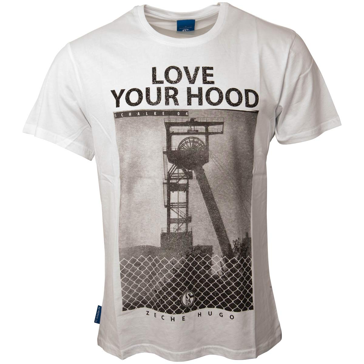 FC Schalke 04 Herren T-Shirt GE grau