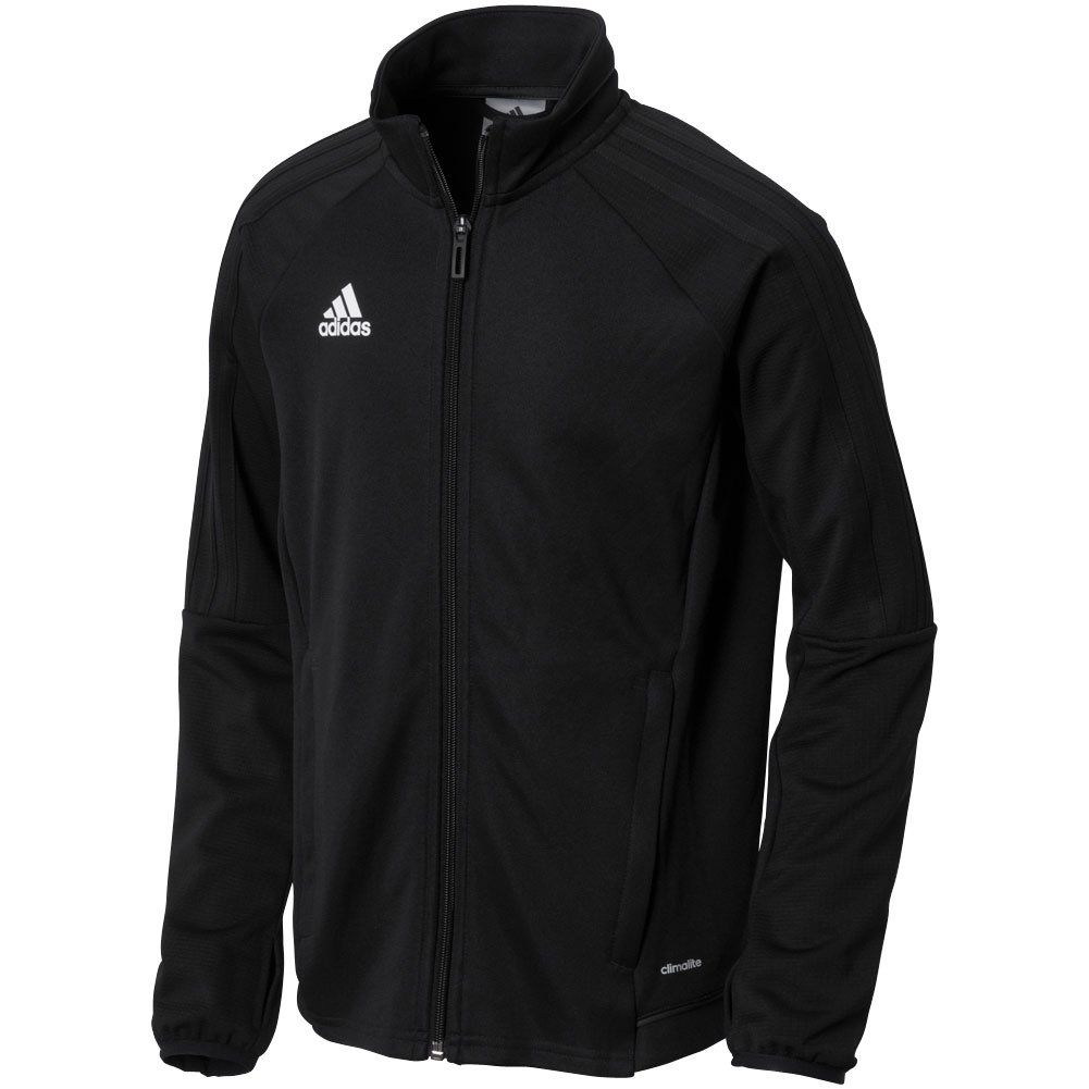 adidas Youth Tiro 17 Training Jacket Black/White L by adidas