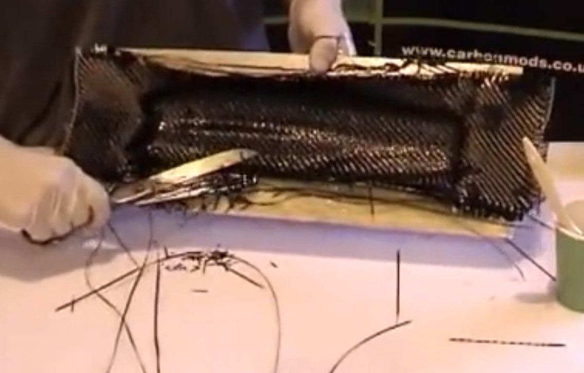 Gorilla carbonworksTM Carbon fiber composites starter kit