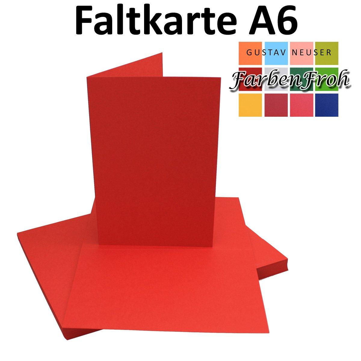 250x Falt-Karten DIN A6 A6 A6 Blanko Doppel-Karten in Hochweiß Kristallweiß -10,5 x 14,8 cm   Premium Qualität   FarbenFroh® B078W4MKX7 | Discount  c7e8dc