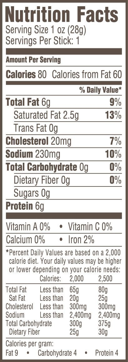 Vermont Smoke & Cure Meat Sticks, Beef & Pork, Antibiotic Free, Gluten Free, Chipotle, 1oz Stick, 24 Count by Vermont Smoke and Cure (Image #5)