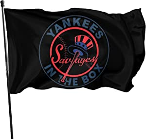 Winodfrw Savage in The Box T Shirt Yanke-ES Flag Home Garden Flag Banner Breeze Decorative Flag
