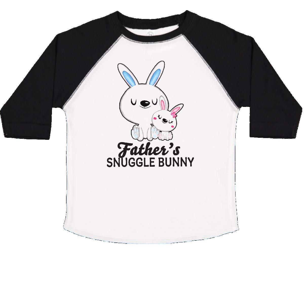 inktastic Fathers Snuggle Bunny Easter Toddler T-Shirt