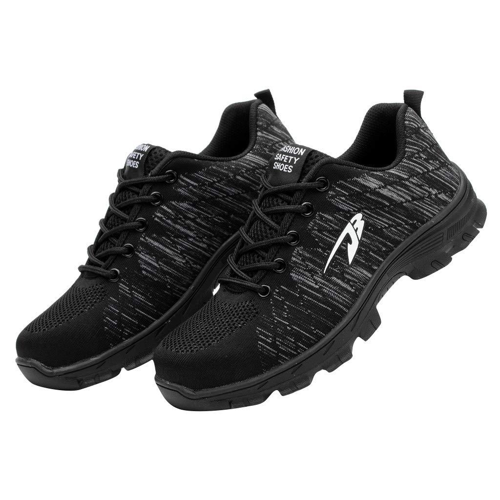 Zapatos De Seguridad Aire Libre Y Deporte Transpirables Casual Lace Up Zapatos Gimnasio Correr Sneakers Zapatillas Running Hombre Zapatillas De Tela Unisex Adulto