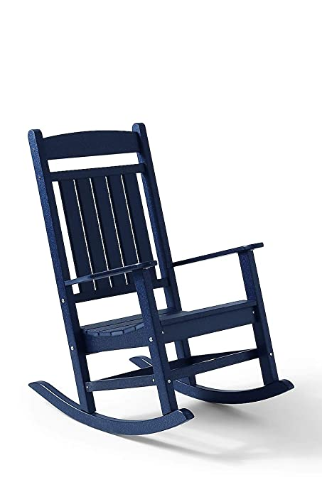 Tremendous Amazon Com Lands End All Weather Recycled Classic Rocker Pdpeps Interior Chair Design Pdpepsorg