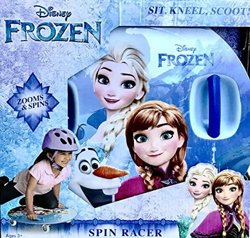 Disney Frozen Spin Racer - Sit, Kneel Scoot! caster board ride-on (Ride Racer)