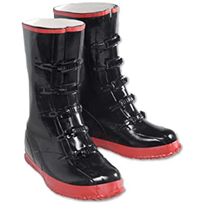 Amazon.com | 5 Buckle Rubber Over-shoe Boots | Industrial ...