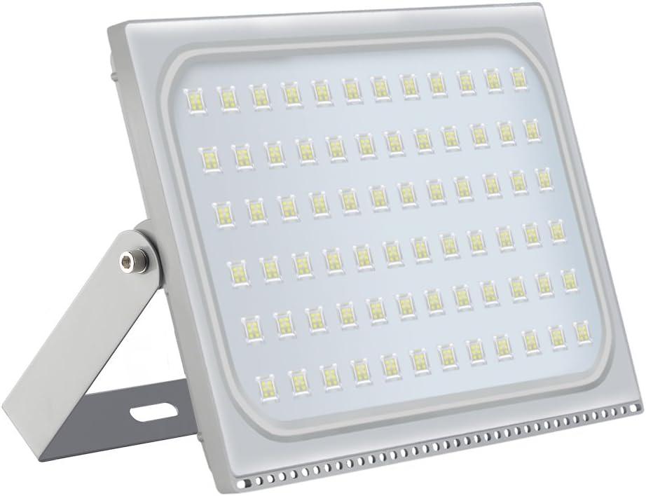 500W Foco LED Exterior, 40000LM 6000K Blanco Frio Ultra Delgado ...