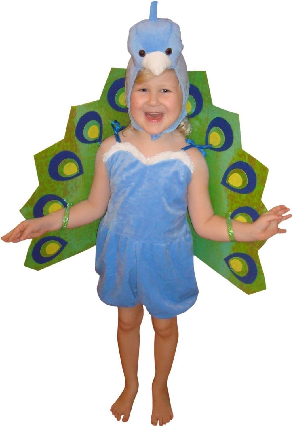 F56 104 – 110 pavo real Disfraz infantil niños disfraces para ...