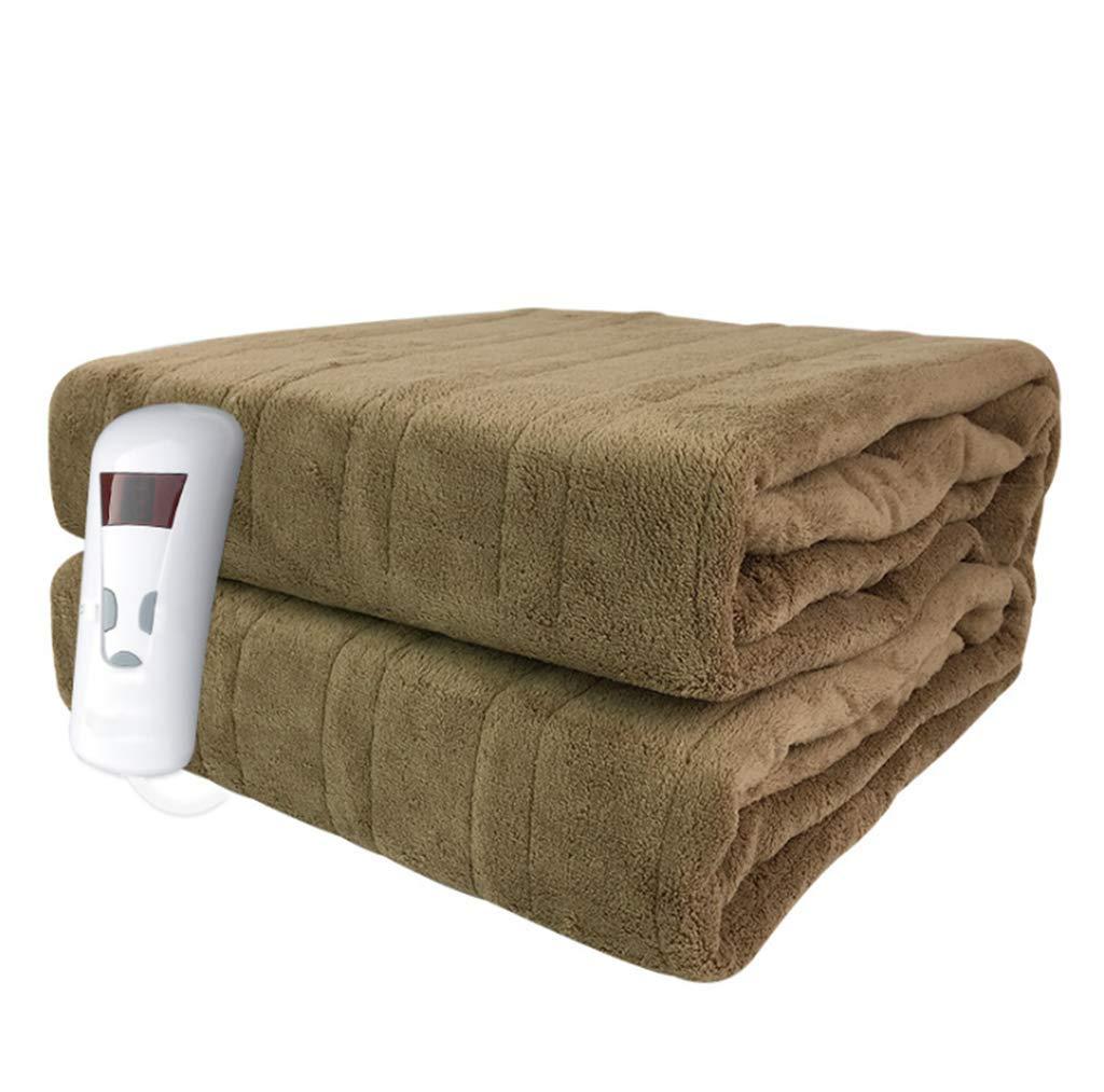 電気毛布放射線なしのダブルシングルコントロールの安全性は、サンゴベルベット電気ピンセットをタイムアドすることができます   B07L6TGZ2J
