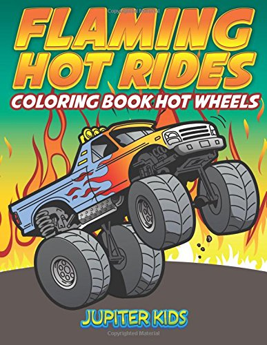 Flaming Hot Rides Coloring Wheels