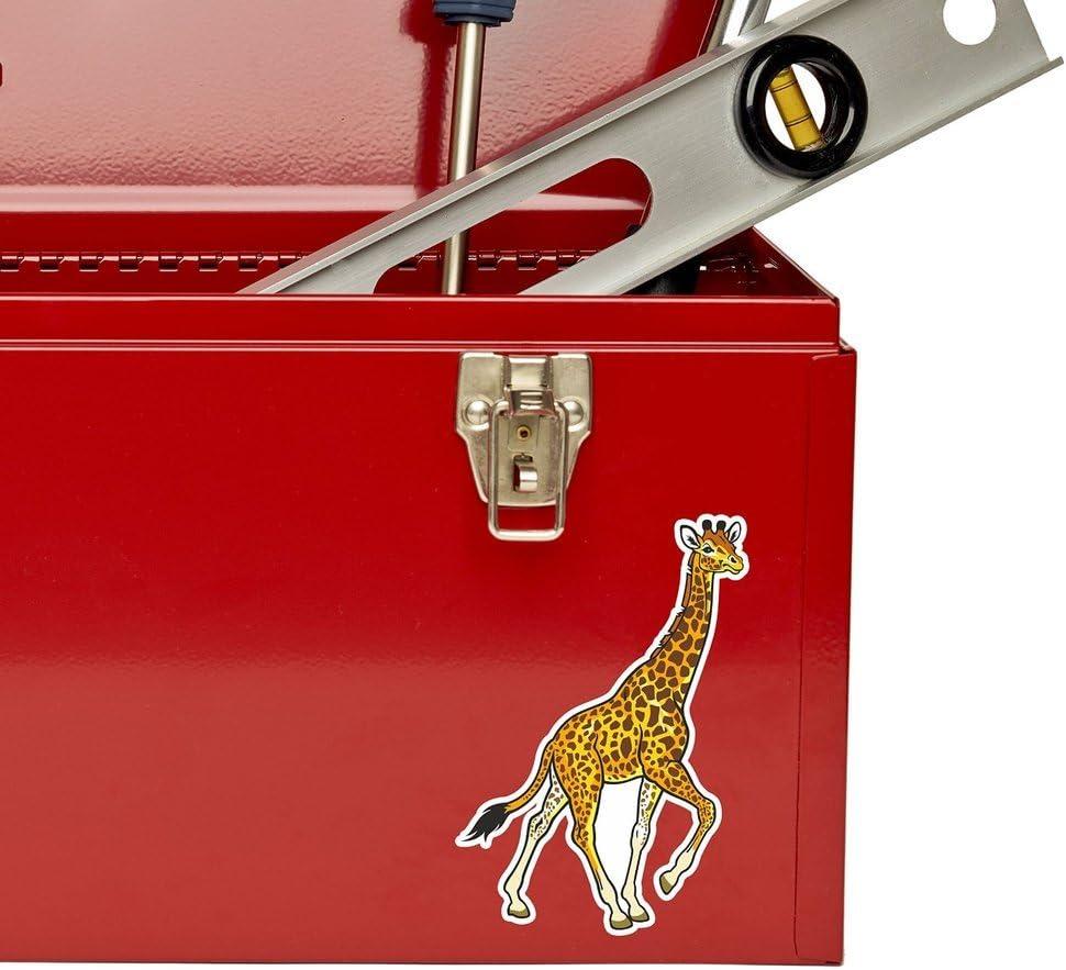 2 x Giraffe Vinyl Sticker Laptop Travel Luggage #4431